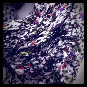 Express pop of color scarf